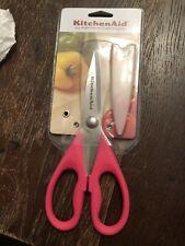 New KitchenAid Kitchen Shears Scissors Pink