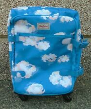 Original Cath Kidston Blue Four Wheel Cabin Bag