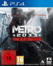 Playstation 4 Metro 2033 Redux Neuwertig