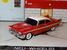 CHRISTINE 1958 PLYMOUTH FURY 1/64 SCALE REPLICA DIORAMA COLLECTIBLE MODEL N