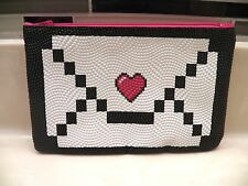 February 2016 IPSY Makeup Bag ( Bag Only ) Pretty In Pink ~ Heart Envelope