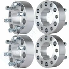 """4Pc 2"""" (50mm) 6x135 to 6x135 Wheel Spacers 14x2.0 Studs For 2004-2014 Ford F150"""