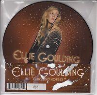 "ELLIE GOULDING Guns & Horses UK vinyl 7"" picture disc UNPLAYED low number #10!"