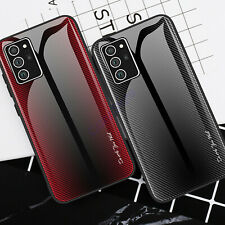 For Samsung Galaxy S20 FE 5G Ultra Slim Tempered Glass Phone Back Case Cover