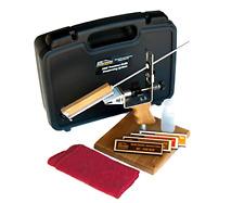 KME Precision Knife Sharpener System w/4 Gold Series Diamond Hones Base Included