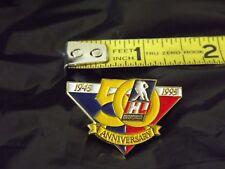 Ihl 50Th Anniversary 1995 lapel hat Pin International Hockey League