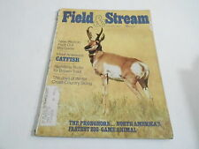 JAN 1973 FIELD AND STREAM vintage fishing hunting magazine