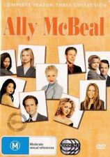 ALLY MCBEAL (COMPLETE SEASON 3 - DVD SET SEALED + FREE POST)