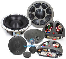 "MOREL ELATE 603 PRO 6.5"" 3-WAY COMPONENT SPEAKERS MIDS TWEETERS CROSSOVERS NEW"