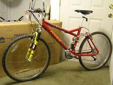 Ross Bicycle Bryce Canyon Bike Amlite Frame Rock Shox Fork,