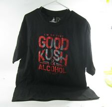 NEW shooting star I'M ON THAT GOOD KUSH & ALCOHOL  T Shirt SIZE  L  P