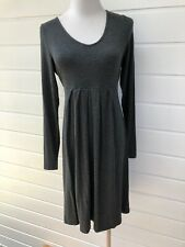 Sizes 8 10 12 14 16 New Maternity Dress Silver Caramel and black work or play