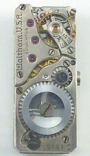 Waltham Wristwatch Movement - Model 450 - Spare Parts, Repair