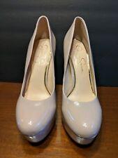 6156912b6280 Material  Patent Leather. Jessica Simpson Nude Beige Platform High Heels