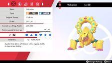 Ultra Shiny*** 6IV Modest Water Absorb Volcanion Pokemon Sword/Shield