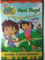 Dora the Explorer - Meet Diego (DVD, 2003)