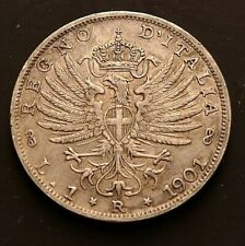 Lira 1901R from Italy KM# 32 (Key date, high grade)