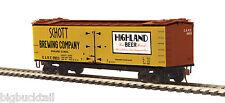 MTH  (HO-Scale) SCHOTT BREWING CO. Woodside Reefer Car #9903 NIB RTR