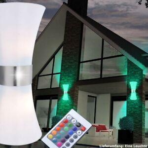 LED Außen Wand UP & DOWN Lampe Garten Leuchte Hof Weg RGB Fernbedienung dimmbar