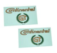 Fits Royal Enfield GT Continental Vinyl Decal Sticker Emblem Set AUD
