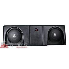 JL AUDIO® SB-GM-SLVCC2/12TW3/BK Stealthbox '07-'13 Chevrolet GMC Silverado