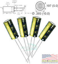Panasonic 820uF 25V 105C Capacitor Radial Lead,LCD TV Monitor Repair (Pack of 4)