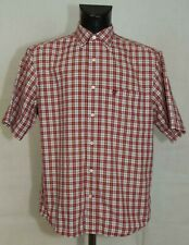 MENS TIMBERLAND SHIRT SHORT SLEEVE COTTON SIZE L (LABEL M/M) VGC