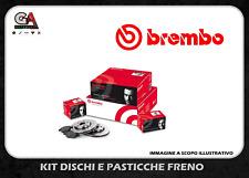 Dischi freno opel corsa d 1.3 cdti 66 Kw + pasticche anteriori Brembo dal 0706