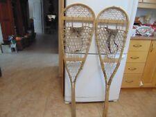 antique     snowshoes      14  x  49   chalet decor  nice   /#  2243