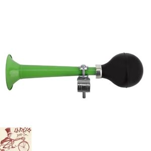 CLEAN MOTION TRUMPETER GREEN BICYCLE HORN