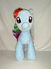 NWT BUILD A BEAR BAB My Little Pony Plush Stuffed Animal Rainbow Dash MLP