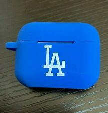 For Airpods PRO - LA Dodgers Blue Soft Rubber Silicone Earphone Case Cover Skin
