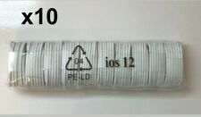 10 Pack 3FT USB Cable For Original Apple iPhone 5 6 7 8 Plus X Lightning Charger