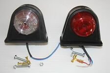 Pair of Trailer Lights Mudguard Marker Lights Tail and Side Light