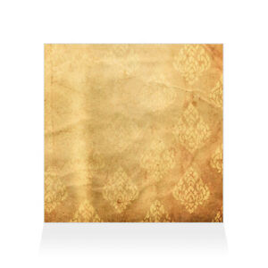 Home Decor Wall Sign Brown and Yellow Paper Style D Art Picture Frame