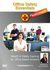 Office Safety Essentials Multi Lingual DVD