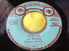 Rare Roots Reggae Dub 45 : Observer Style ~ Dub Root of David ~ Observer