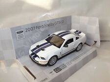 "2007 Ford Shelby GT500 White Die Cast Metal Model Car 5"" Kinsmart Collectable"