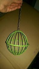 Metal Hay/Vegetable Hanging Ball Basket (12cm)