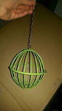 Metal Hay/Vegetable Hanging Ball Basket (12cm)