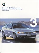 brochure 1999 BMW SÉRIE 3 COUPÉ !!!