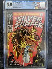 Silver Surfer #3 CGC 3.0 1st Mephisto!