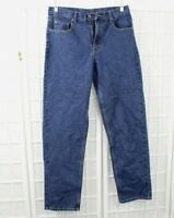 Member's Mark Relaxed Fit Color Blue Jeans Men's Size 34x34 NWOT
