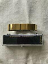 MAGOR Magnetic Bracelet Edelstahl Magnet-Armband Goldfarben Magnetfeldtherapie