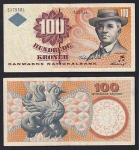 Danimarca 100 kroner 1999 (2001) BB/VF  A-01