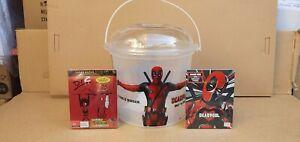 Deadpool 1 & 2 steelbooks  : 4K HD & Blu ray  Collectors edition / big bucket
