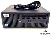 HP ProDesk 400 G3 SFF 3.20GHz Quad Core i5-6500 1TB HDD 8GB RAM Windows 10 Pro