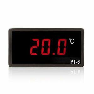 Digital Rot LED Thermometer & Sensor für Auto KFZ PKW Motorrad 12V 220V