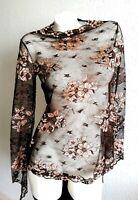 La Perla RARE  3 piece set  Lace Top,Long Silk pant & lace hot tanga  UK S BNWT