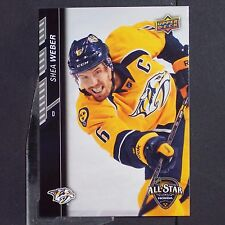 SHEA WEBER  2015-16 UD All Star Game Future Goals #FG3  PROMO Montreal Canadiens